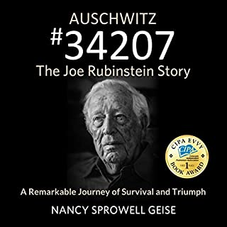 Auschwitz #34207 audiobook cover art