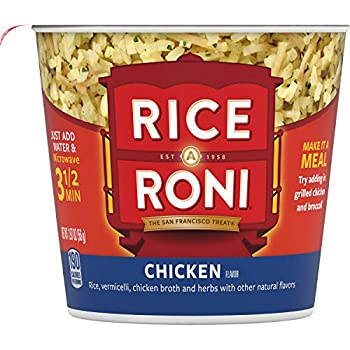 Rice a Roni Cups Chicken Flavor 1.97 Ounce  Pack of 12