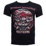 Adult Avenged Sevenfold 'Battle Armor 2014 Tour' (BC-OH) Black T-Shirt (X-Large)