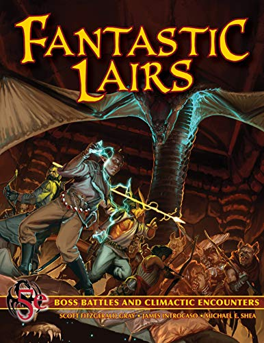 Fantastic Lairs: Boss Battles & Final Encounters for your 5e RPG (English Edition)