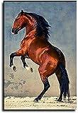 Lienzo Pintura Al óLeo Andaluz para la decoración del Porche Poster Y Estampados Arte Cuadros 19.7'x27.6'(50x70cm) Sin Marco