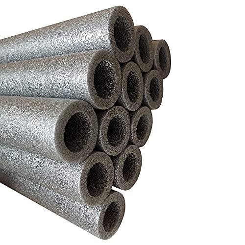 Clever Leon 16 Tubi In Schiuma Per Trampolino Da 92 Ccm (8 Barre), Protezione Per Aste Di Trampolino, Copertura In Gommapiuma Per Aste Del Trampolino, Imbottitura In Schiuma