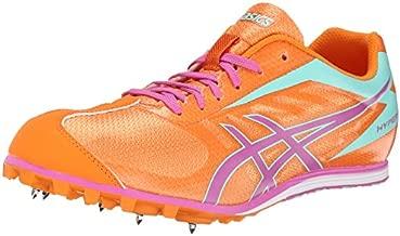 ASICS Women's Hyper LD 5 Track And Field Shoe,Mango/Rose/Mint,10 M US