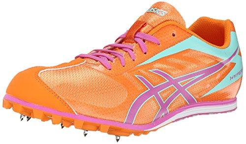 ASICS Women's Hyper LD 5 Track And Field Shoe,Mango/Rose/Mint,6 M US -  ASICS America Corporation