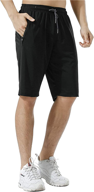 Men's Running Training Sports Shorts Summer Quick Drying Stretch Fitness Shorts