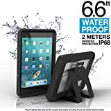 Catalyst Case for iPad Mini 5 Edition 2019, Full Body Protection, Waterproof 6.6ft, Drop Proof 4ft, Kickstand Included, Touch ID, Built-in Screen Protector, iPad case for Kids - Stealth Black