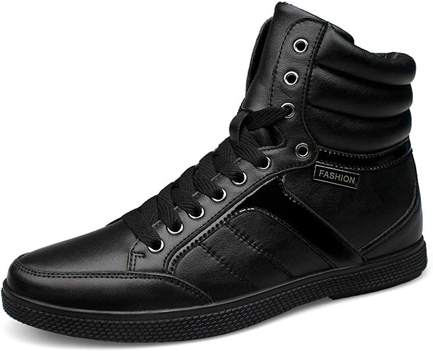 Men's British style Keep warm Breathable High boots Non-slip Wear resistant Leisure Cotton shoes