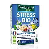 Santarome Bio - Stress Bio | Complément Alimentaire Bien-être physique et mental - A base de Safran et Rhodiola | 30 Gélules