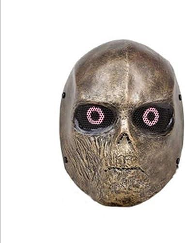 forma única YaPin YaPin YaPin Disfraz de Halloween Máscara FRP Terminator CS Máscara de projoección de Campo Máscara táctica  ventas de salida