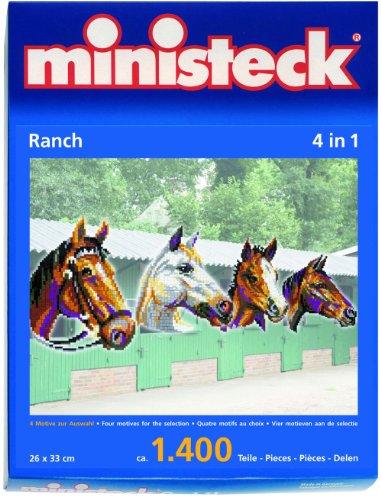 ministeck 31703 - Pferdeköpfe
