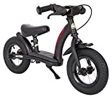 BIKESTAR Vélo Draisienne Enfants pour Garcons et Filles de 2 - 3 Ans | Vélo sans pédales évolutive 10 Pouces Classique | Noir
