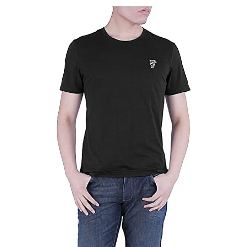 d8e078196e5 Versace Collection Men's Black Medusa Crew Neck T-shirt