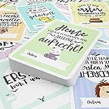 40 Baby Meilenstein-Karten für Jungen und Mädchen mit hochwertiger Verpackung von Cozy Hedgehog (Sprache Deutsch) - Meilensteinkarten - Geschenk zur Geburt, Babyparty, Schwangerschaft