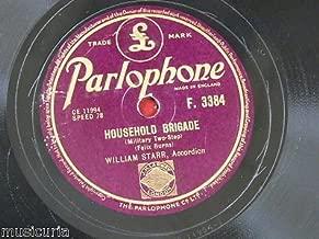 78rpm WILLIAM STARR household brigade / boston two step [ luke cavendish everett