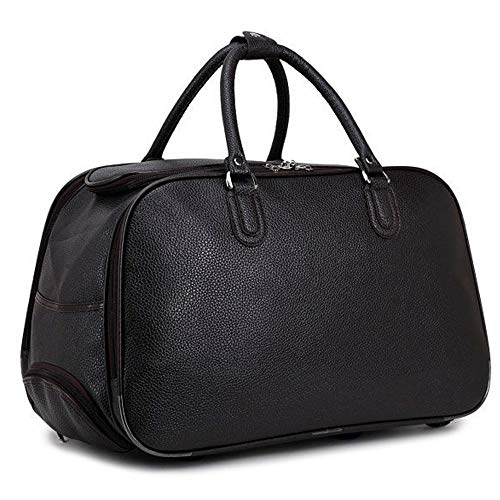 Craze London New Ladies Travel Holdall Bags Hand Luggage Womens Faux...