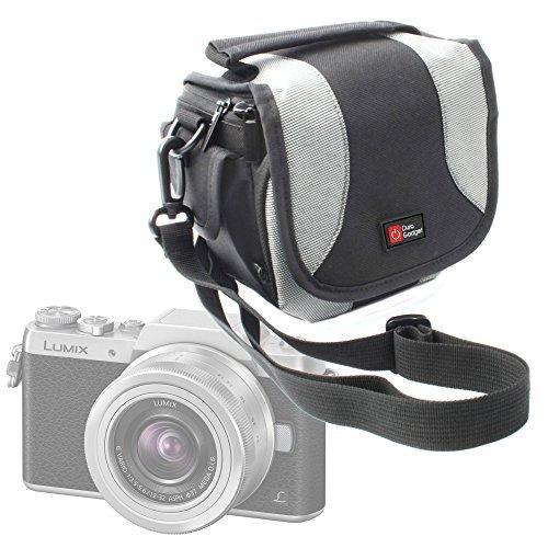 DURAGADGET-Funda-multi bolsillo para Panasonic Lumix DMC-GF7 Pentax WG-30, Wi-fi y Sony ILCE5100LB.CEC...
