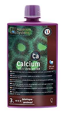 Aquarium Systems Reef Evolution Calcium en Liquide pour Aquariophilie 250 ML