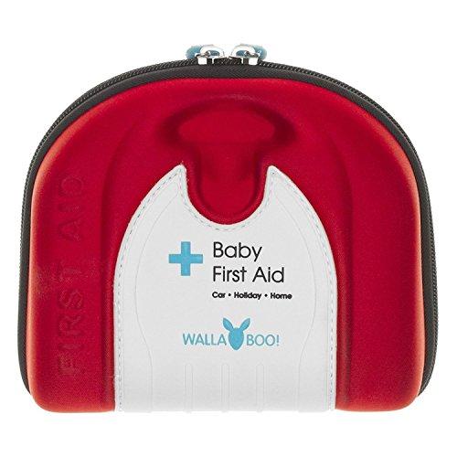 Wallaboo EHBO-set met 33 noodgevallen en eerstehulpspullen voor baby's en kinderen