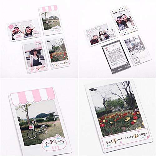 Scrapbooking Polaroid dagboek, albumsticker, kalender, papier, sticker, briefpapier, schoolbenodigdheden, 6 vellen/losse
