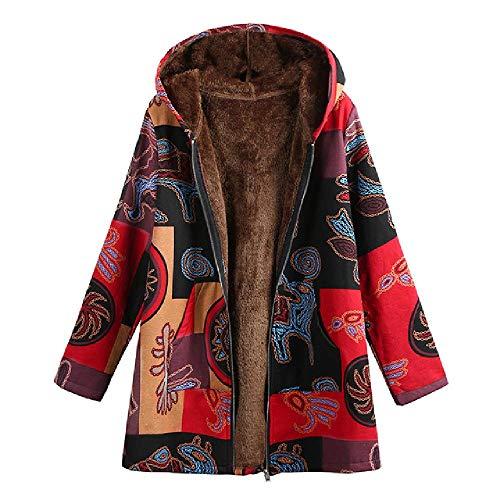 OKJI Dames Winterjassen Grote Maat Pluche Lange Mouw Herfst 4XL 5XL Plus Size Herfst Lange Jas met capuchon