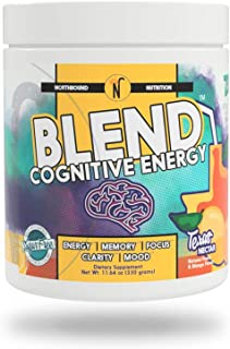 NorthBound Nutrition Blend Cognitive Energy & Endurance Formula Supplement - Mental Boost with Caffeine for Memory, Focus,...