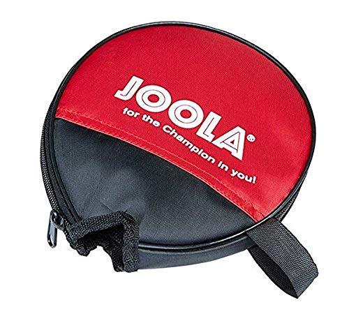JOOLA Tischtennishülle ROUND Tischtennistasche Passend für 1 Tischtennisschläger, Rot