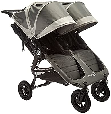 Baby Jogger City Mini GT Double Stroller - 2016 | Baby Stroller with All-Terrain Tires | Quick Fold Lightweight Double Stroller
