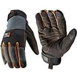 FX3 Men's Extreme Dexterity Extra Wear Winter Work Gloves, Extra Large (Wells Lamont 7796)