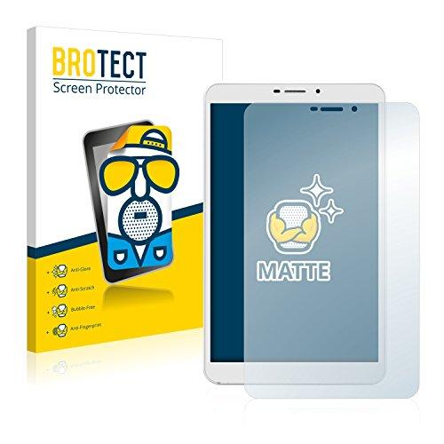 BROTECT 2X Entspiegelungs-Schutzfolie kompatibel mit Kiano SlimTab 8 3G Bildschirmschutz-Folie Matt, Anti-Reflex, Anti-Fingerprint