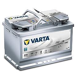 VARTA Start-Stop Plus Autobatterie, E39, 570901076, 70 Ah, 760 A