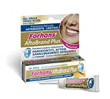 Forhans, Gel Oral Aftabrand Plus, previene la afte, los periodontitis y los sangrado genitales, zinc cloruro, ácido hialurónico y Lattoferrina, sin alcohol, 10 ml