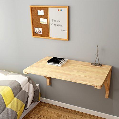 WNX Multifunktions Solid Wood Klapptisch Küche Esstisch Wohnzimmer Computer Schreibtisch Kind Lagerung Tabelle Haushalt Studie Tisch Wandtisch (Größe   50  30cm)