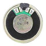 Altavoz confiable de 8 ohmios de 1 W, altavoz estable de tamaño pequeño, cuadrado al aire libre para amplificación de música en interiores