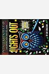 OrnaMENTALs Lights Out Portable Edition: 40 Smaller Lighthearted Designs to Color with Dramatic Black Backgrounds Paperback