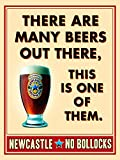 Newcastle Brown Ale,Metal Sign,Retro,Kitchen,Diner Vintage