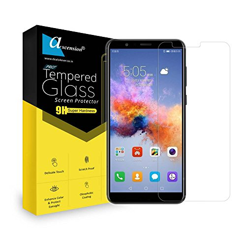 Ascension ® for Huawei Nova 2 Tempered Glass Gorilla Screen Protector Screen Guard High 9H Hard 2.5D Ultra Clear (Transparent)
