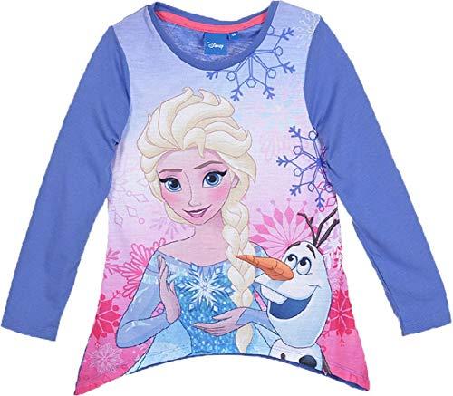 Langarm T-Shirt Frozen Anna ELSA Größe 128