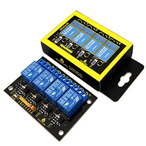 KEYESTUDIO Relay Module 4-channel 5V R3 Mega 2560/Raspberry Pi/Avr/Stm 32 for Arduino