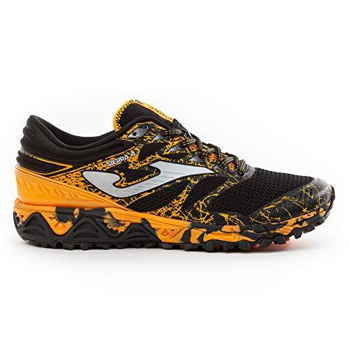 Joma Sierra, Zapatillas para Carreras de montaña Hombre, Negro, 44 EU