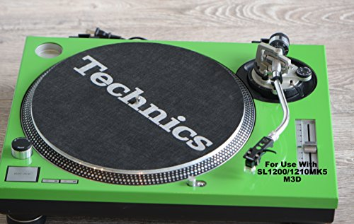 Why Should You Buy Technics Green Face Plate To Use With SL1200/1210MK5, M3D (With The Reset Button)
