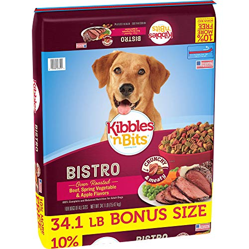 Top 10 best selling list for kibbles and bits bistro