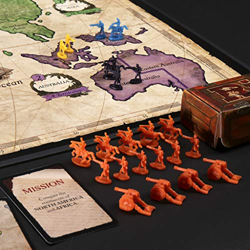 Hasbro Gaming- Risk Gaming Clasico Juego de Mesa, Multicolor, Miscelanea (B7404105)