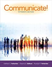 verderber communicate 15th edition