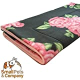 Guinea Pig Fleece Cage Liner for Midwest Habitat   Guinea Pig Bedding   Guinea Pig Fleece   Beautiful Roses