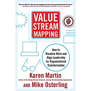 Value Stream Mapping audiobook cover art