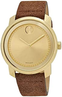 Movado Men's Bold - 3600449 Yellow Gold One Size