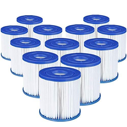 12 Stück Bestway 58093 Filterkartuschen Größe 1