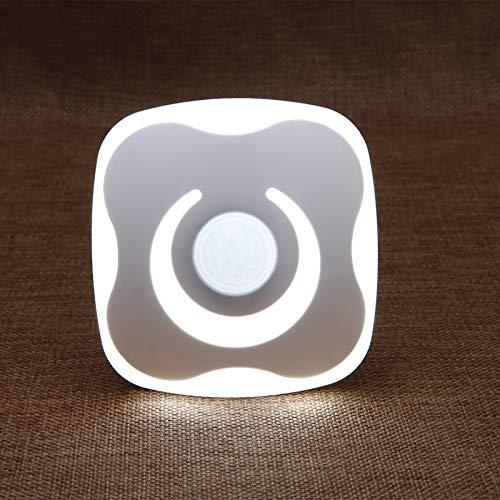 Luz De Noche del Sensor LED, Luz De La Noche De Inducción De La Inducción del Cuerpo Humano Recargable USB, Se Puede Pegar En Cualquier Lugar, Cabecera, Pasillo, Dormitorio, Baño