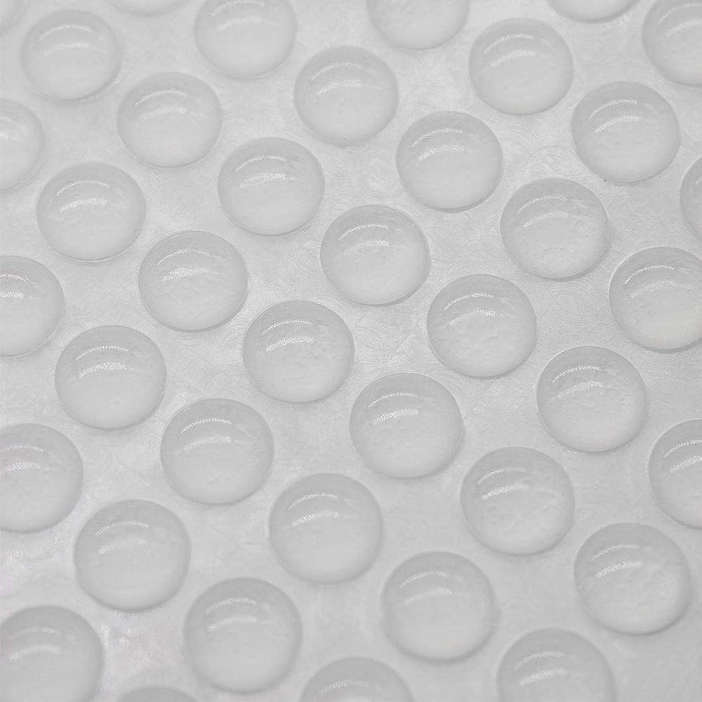 ディベート道自発的Hantier 300粒 ゴムクッション ソフトクッション 自己粘着 滑り止め 緩衝 家具保護パッド 透明 戸当たりクッション ドア 防キズ 防振 防音 半球形