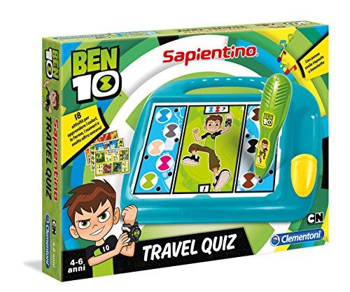 Clementoni Sapientino Travel Quiz Ben 10, Multicolore, 16086